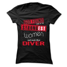 Cool #TeeForDiver God Found Some...… - Diver Awesome Shirt - (*_*)