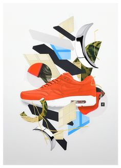 Mixed Media Artworks by Takeshi | Inspiration Grid | Design Inspiration