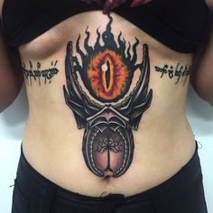 Thanks for this super fun LOTR tattoo Georgie! #bilbobaggins #galadriel…