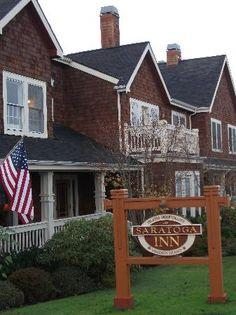 Saratoga Inn - Whidbey Island, WA (best homemade chocolate chip cookies ever)