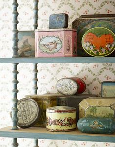 I love old tins especially ones that contained food products.