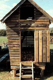Inside Corn Crib | Vintage Corn Crib | Pinterest