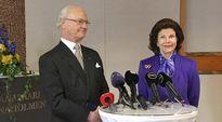 Lauma robotteja valmistautuu Ruotsin kuningasparin vierailuun