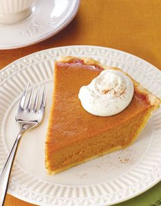 Apple Butter Pumpkin Pie: This pie combines two of our favorite fall flavors.