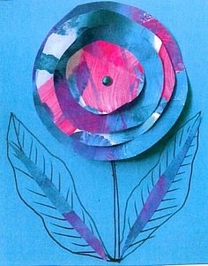 circle card Nature Crafts, Cards, Painting, Painting Art, Paintings, Maps, Painted Canvas, Playing Cards, Drawings
