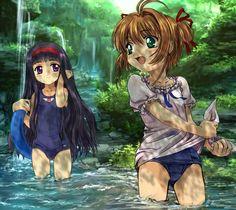 Resultado de imagen para sakura y tomoyo