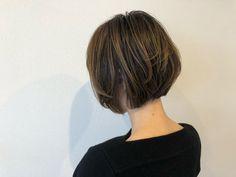 Pin on ボブ Asian Bob Haircut, Short Layered Haircuts, Short Layers, Hair Cuts, Hair Color, Hair Beauty, Hairstyles, Nail, Haircuts