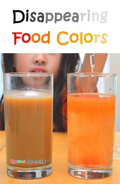 Disappearing Food Color Experimetn - Science Project - STEM