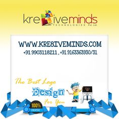 Our professional design team helps you to create your #companylogo at affordable price.http://kre8iveminds.com/
