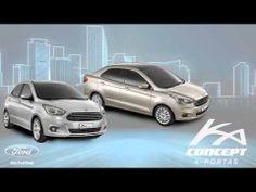 Ford apresenta KA Concept 4-Portas, seu novo compacto global