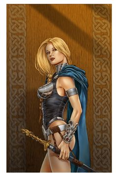 Valkyrie (Marvel Comics) my favorite of course!