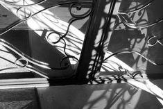 Cannes metal door is trying to stop the light disturbing the neighbors.