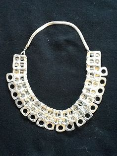 Pull tab necklace