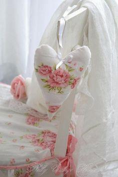 blanco con rosas