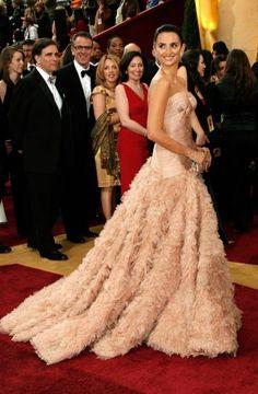 Penélope Cruz en Versace, Oscars 2007