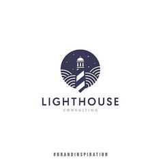 Beautiful lighthouse logo design – lots of churches have 'lighthouse' in their name – this is a great literal depiction of a name without being patronising to your audience. Source by Do you need Read more… Great Logo Design, Graphisches Design, Custom Logo Design, Name Logo, Logo Branding, Branding Design, Corporate Branding, Brand Identity, Wildlife Fotografie