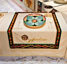 "Hypatia's place setting at Judy Chicago's ""Dinner Party"". Hypatia was an ancient Egyptian, one of the first women to be a mathematician and philosopher, as well as teaching at the Museum of Alexandria Judy Chicago, Chicago Art, 8th Grade Art, Feminist Art, Collaborative Art, Art Programs, Egyptian Art, Women In History, Place Settings"