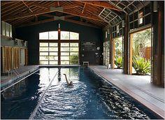 Home Gym - Barn pool - http://amzn.to/2fSI5XT More