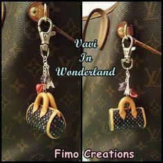 Guarda questo articolo nel mio negozio Etsy https://www.etsy.com/listing/225805758/polymer-clay-jewelry-womens-purses