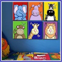 Animals Canvas Prints - I can probably paint these....?