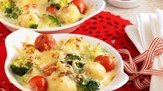 Broccoli-Knödel-Auflauf