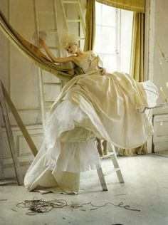 Lady Grey Tim Walker Vogue Italia