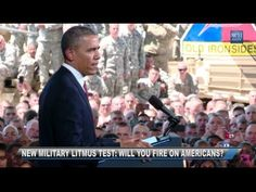Obama to Top Brass: Will you fire on American Citizens?    WHAT DOES OBAMA HAVE PLANNED FOR YOU??