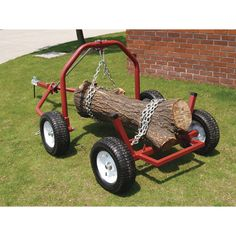 The Northern Industrial Tools ATV log skid arch and holder easily moves logs up to 1000 lbs. and up to 20 feet long. Minimizes snagging and keeps logs mud-free during transport.