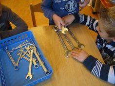 passen en meten met sleutels