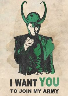 "@Erin Puhan, I don't know if you have this one on your ""Loki"" Board, but I thought it was kinda funny :)"