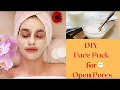 Big Pores On Face, Face Mask For Pores, Dry Skin On Face, Face Skin Care, Scar Remedies, Home Remedies, Face Home, Best Skin Care Routine, Makeup Eye Looks