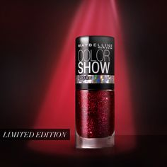 It's an invitation-only holiday party and you're invited: Maybelline New York Sequins by Color Show.