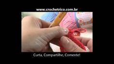 Crochê para Canhotas - Guia de Pontos - Aula 06 - Ponto Picô