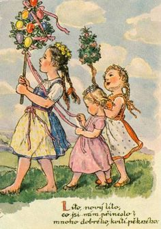 Vintage Pictures, Art Pictures, Forest Fairy, Baby Art, Hello Spring, Paintings I Love, Vintage Greeting Cards, Christian Art, Children's Book Illustration