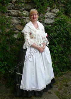 bürgerliches Rokoko Kleid
