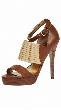 love these woven platform sandals {charles david}