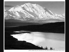 Ansel Adams: Landscape Photography at its Finest  Nice short video (2:30) with music only.  Use with my 3rd grade on VALUE unit!