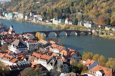 Neckar River, Heildelberg, Germany