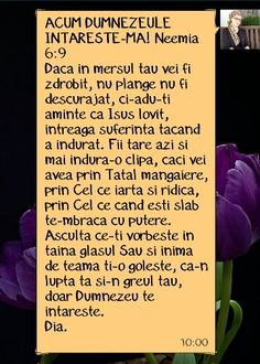 Mesajul de luni 21 septembrie 2015 My Bible, Peace And Love, Inspirational Quotes, Faith, Words, Bible, Life Coach Quotes, Inspiring Quotes, Loyalty