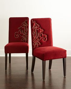 Miguel Dining Chairs, Coordinating Pair by Haute House at Neiman Marcus.