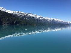 Glacier Bay, Alaska - the water like glass