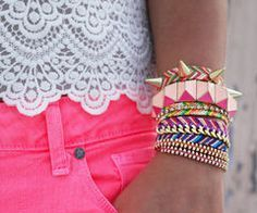 Idée et inspiration Bijoux : Image Description #bracelets