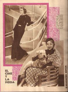 Revista Films Selectos 1933. El cine y la moda.