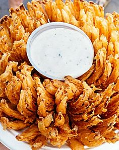 Blooming Onion & Dipping Sauce... Happy Hour Appetizers 27   Hampton Roads Happy Hour