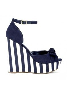Nautical wedges - You welcome on https://www.facebook.com/Lola.Roma.London