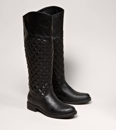 Quilted Riding Boot from American Eagle Outfitters $79.95