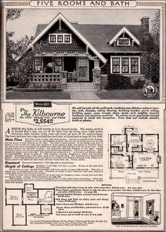23 best kilbourne cottage sears modern home no 7013 images home rh pinterest com