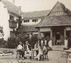 Móricz Zsigmond villája és kertje Leányfalun.
