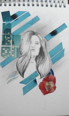 N°1 série portrait by Lise