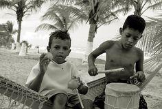 salsa dancing in the beach - Tacarigua, Sucre - Venezuela